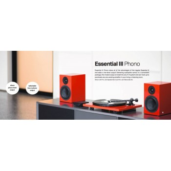 Project Essential III PH. Turntable.