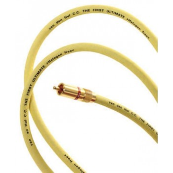 Van den Hul The First Ultimate Digital. Coaxial digital audio cable.