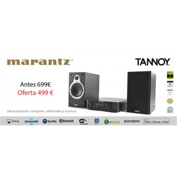 Marantz MCR511 + Tannoy Eclipse One