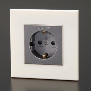 Furutech FI-E30NCF(R). Recessed Power connector.