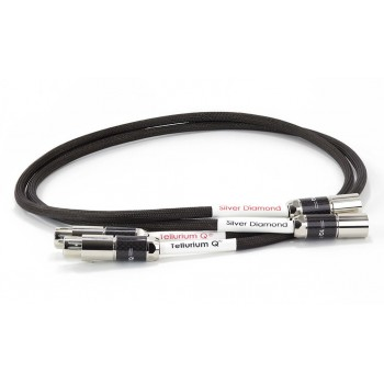 Tellurium Q Silver Diamond XLR Interconnect