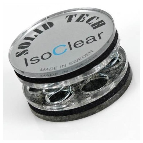 Solid Tech Isoclear vibration isolator for 35 kg