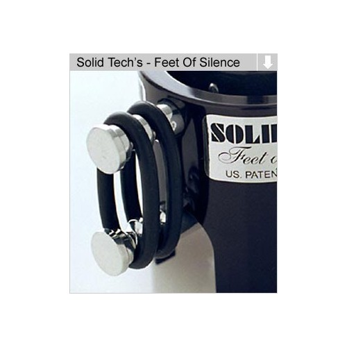 Solid Tech Feet of Silence, juego de 18 anillas para 15-40kg