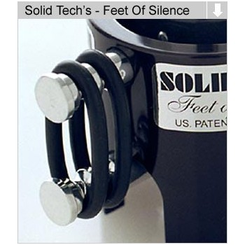 Solid Tech Feet of Silence, juego de 24 anillas para 20-50kg
