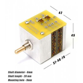 Khozmo Stepped Attenuator Stereo