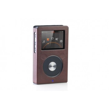 Leather case for FiiO X5 II Brown