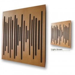 Vicoustic Studio Line - Wave Wood