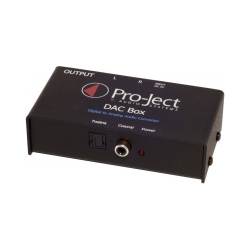 ProJect DAC Box TV. A DESPRECINTAR.