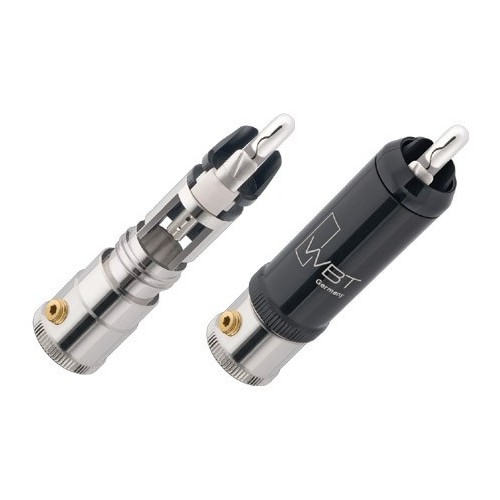 WBT 0152 Ag Silver Male RCA Connector (4 units)