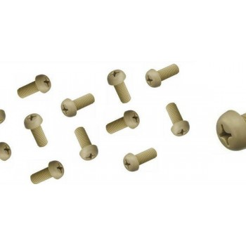 Vibex PEEK screws for cartridges